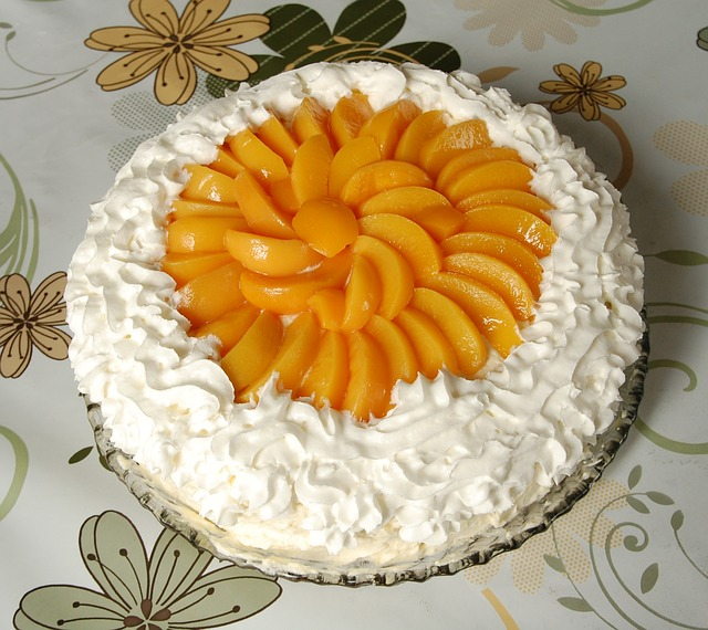Peaches Cake photo