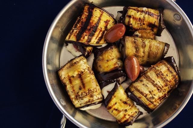Grilled Eggplant photo