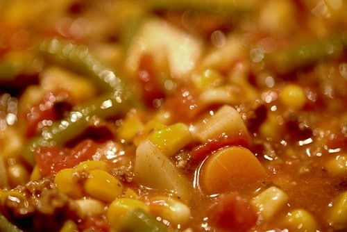 Vegetable Beef Soup Recipe photo