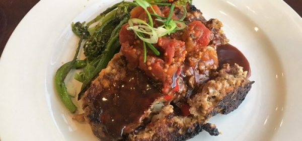 Tomato and Avocado Meatloaf